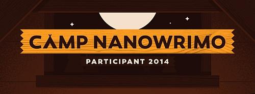 Camp NaNo Participant