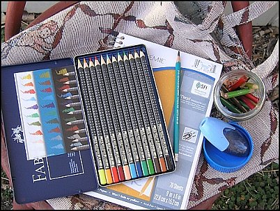 Colored Pencil Field Kit