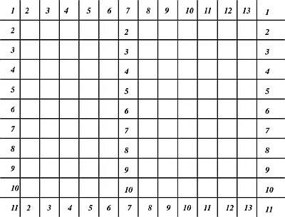 Grid Drawing Demo No. 6