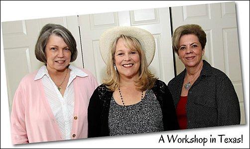 Ann Kullberg Teaching - A Workshop in Texas
