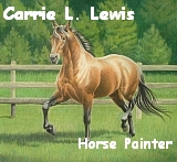 Carrie L. Lewis Horse Painter
