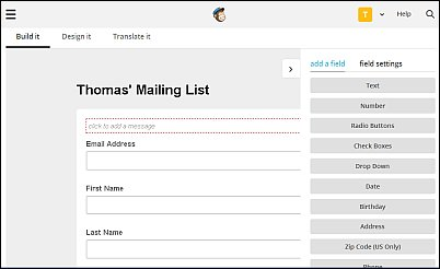 Beyond the Basics MailChimp Signup Form, Screenshot 11