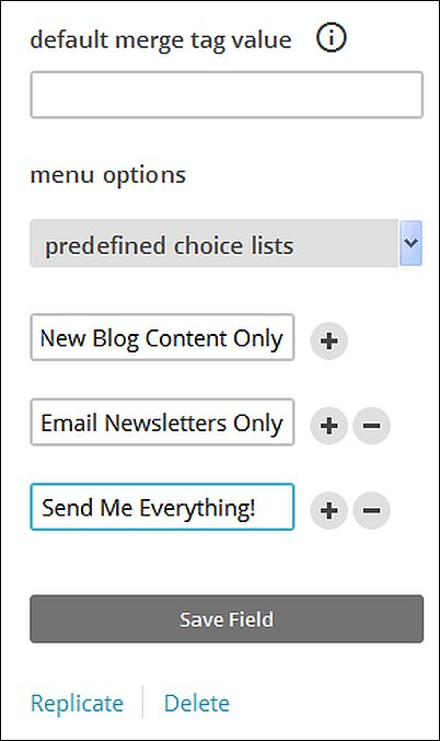 Beyond the Basics MailChimp Signup Form, Screenshot 14