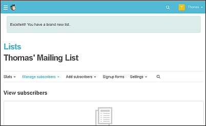 How to Create a List with MailChimp Screen Shot 6