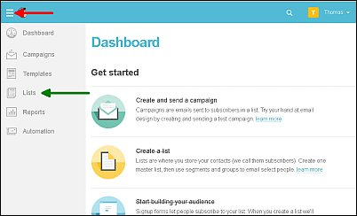 How to Create a Signup Form with MailChimp Screen Shot 1