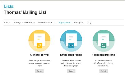 How to Create a Signup Form with MailChimp Screen Shot 4