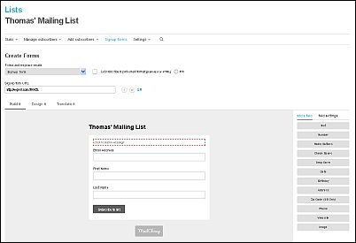 How to Create a Signup Form with MailChimp Screen Shot 5