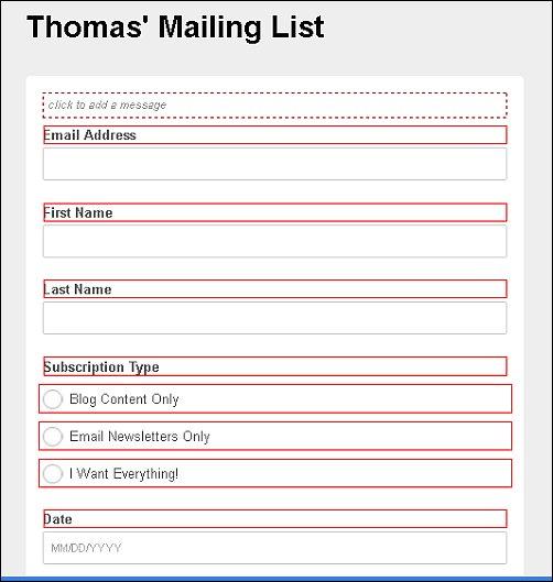 MailChimp Design Options, Screen Shot 9