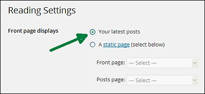 Reader settings for free WordPress blogs screen shot 9