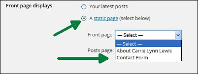 Reader settings for free WordPress blogs screen shot 10
