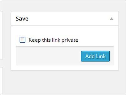 WordPress Links Screen Shot 7