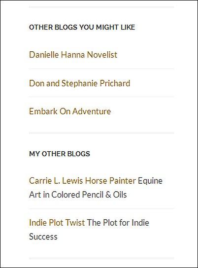 WordPress Links Screen Shot 15