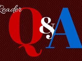 reader q & a banner