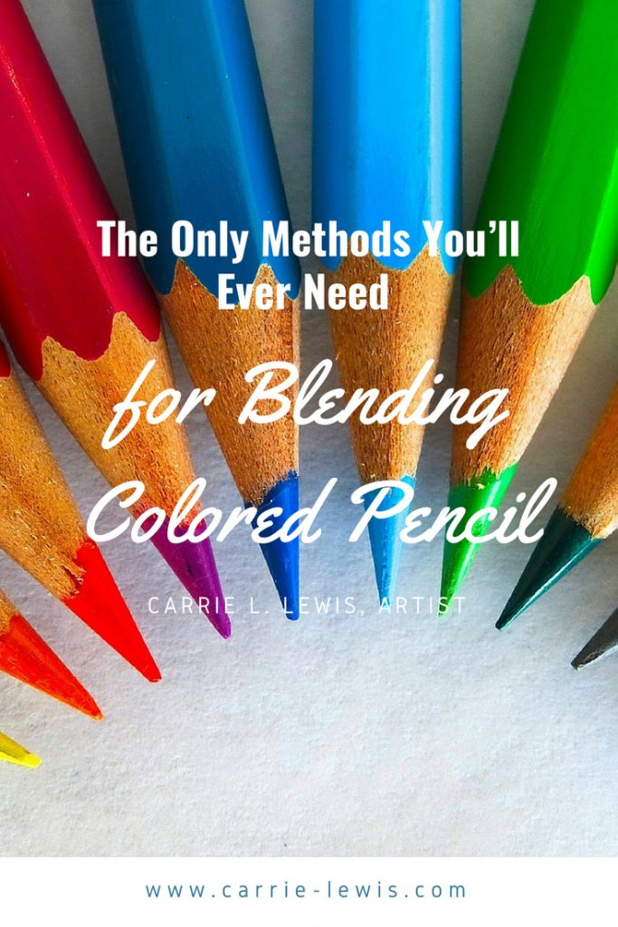 The Only Methods You Ll Ever Need For Blending Colored Pencil Carrie L Lewis Artist