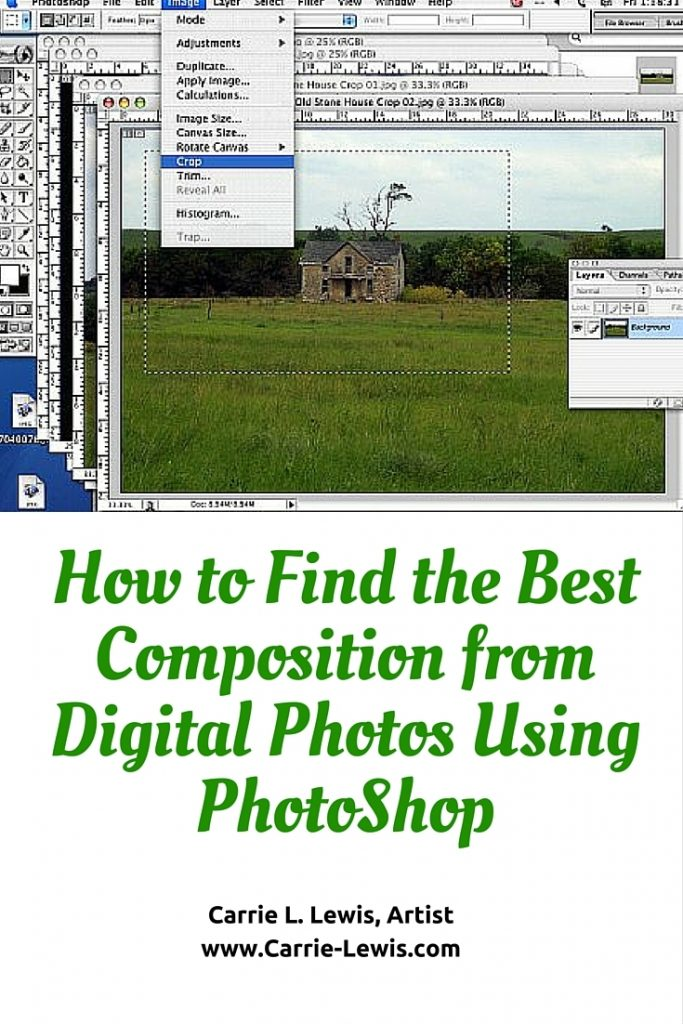 How to Find the Best Composition from Digital Photos on PhotoShop