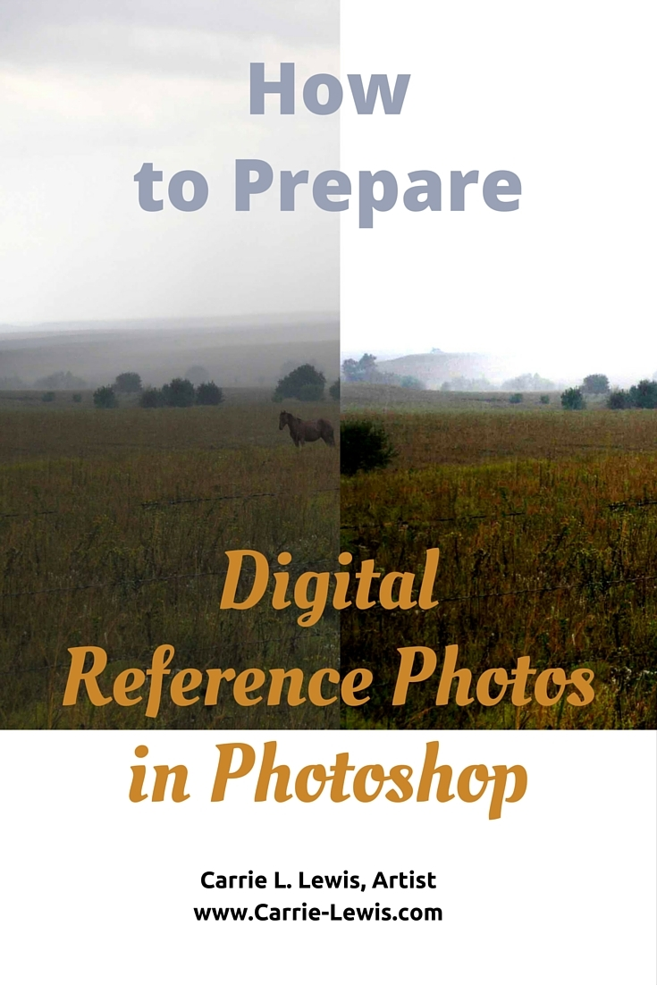 How to Prepare Digital Reference Photos in Photoshop