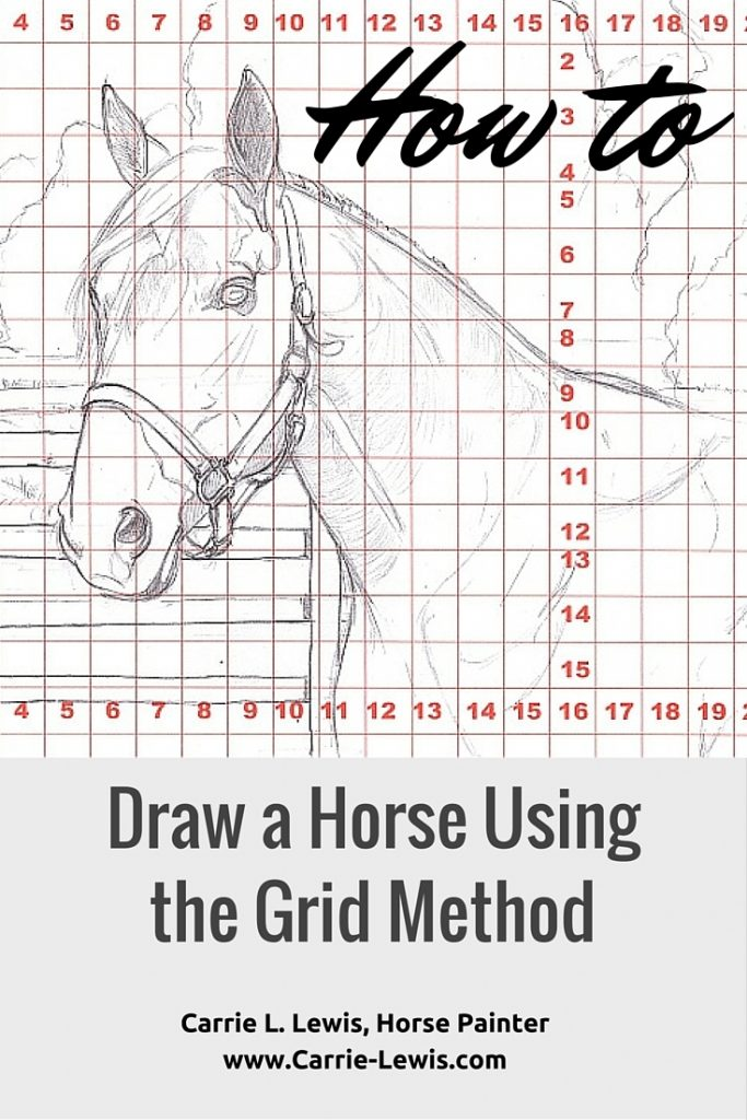 How to Draw a Horse Using a Grid