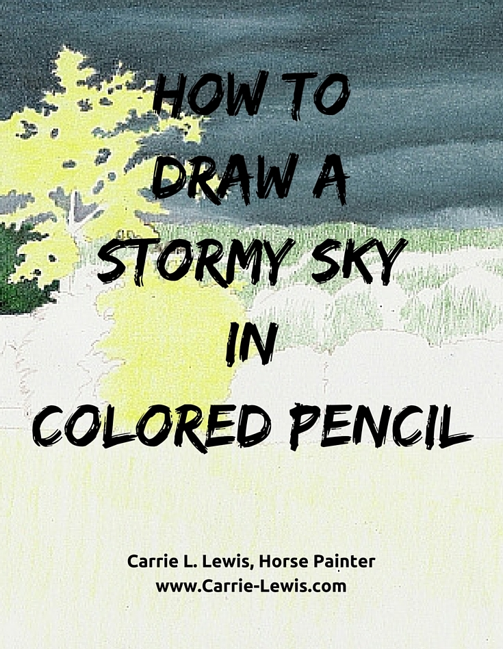 How to Draw a Stormy Sky in Colored Pencil-3