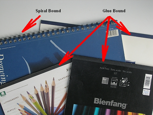 My Favorite Equipment for Drawing Outside - Drawing Pad Bindings