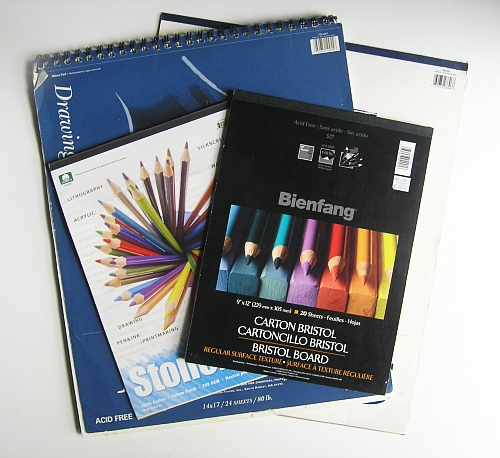 My Favorite Equipment for Drawing Outside - Drawing Pads
