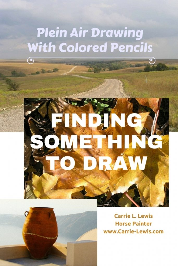 How to Find Something to Draw