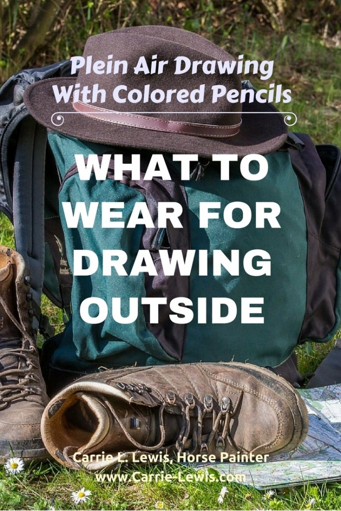What to Wear for Drawing Outside