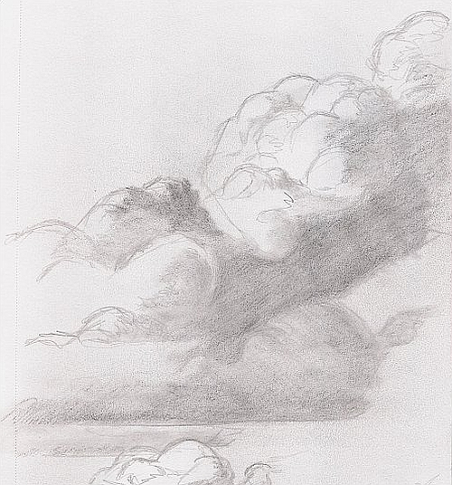 How to Find Something to Draw - Cloud Sketch