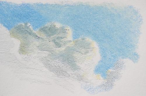 Colored Pencil Plein Air Drawing Week 2