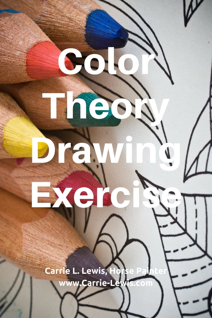 Color Theory Drawing Exercise
