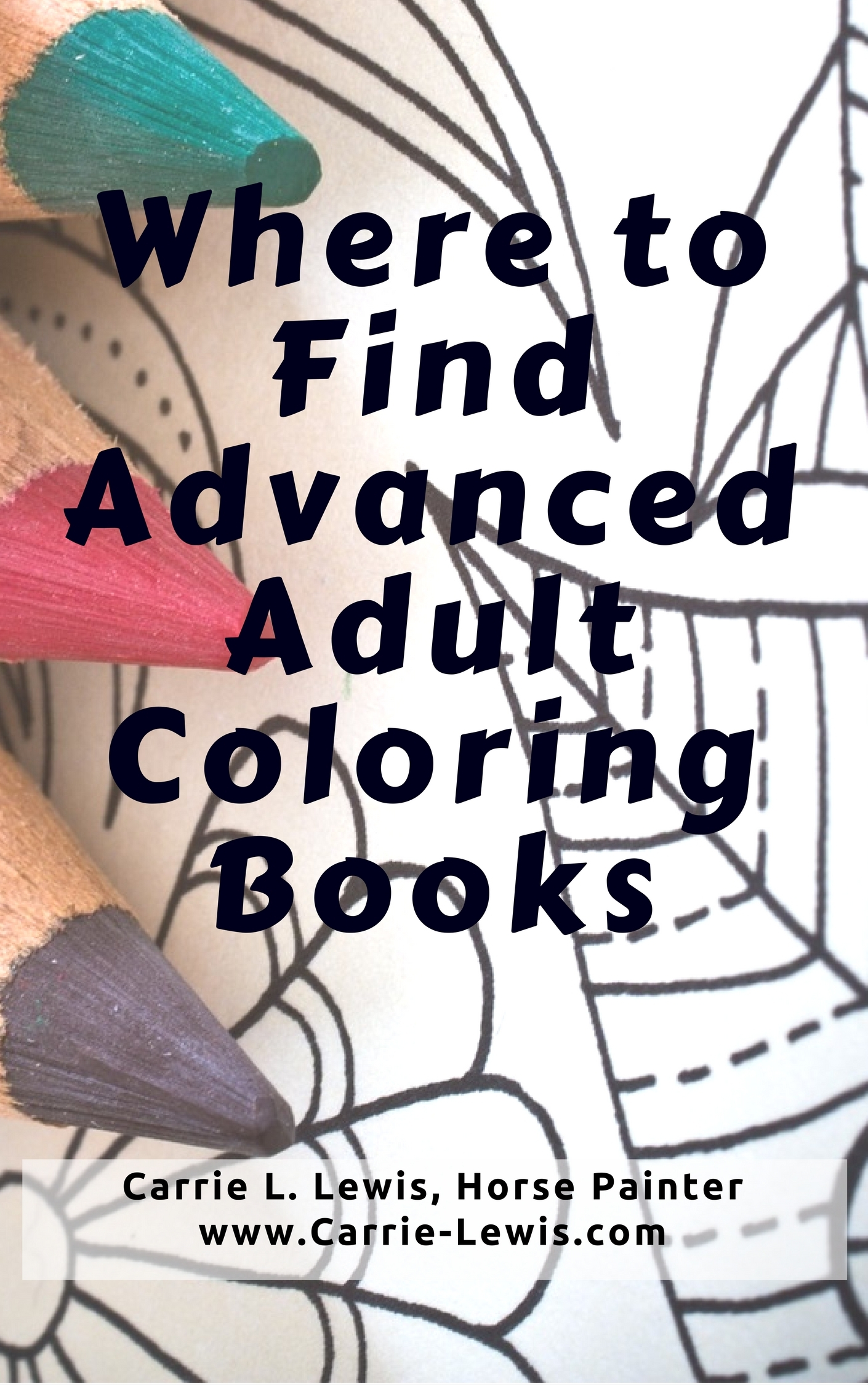 Where to Find Advanced Adult Coloring Books